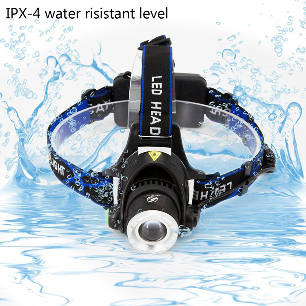 Cree Headlamps Wiring Diagram 8000lm Xml L2 Xm L T6 Led Headlamp Zoomable Headlight Waterproof Head Torch Flashlight Lamp Fishing Hunting Light